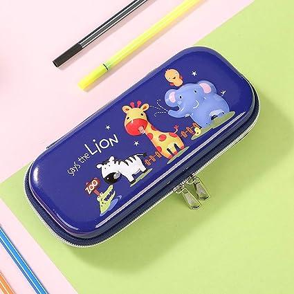 JBDQBH Estuche de papelería 1 Pcs Kawaii Plastic Pencil Case ...