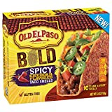 hard taco shells - Old El Paso Gluten Free Stand 'n Stuff Bold Spicy Cheddar Flavored Taco Shells 5.4 oz. Box (pack of 6)