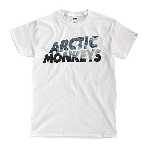 2370ecf98 ... Artic Monkeys White T Shirt Amazon com