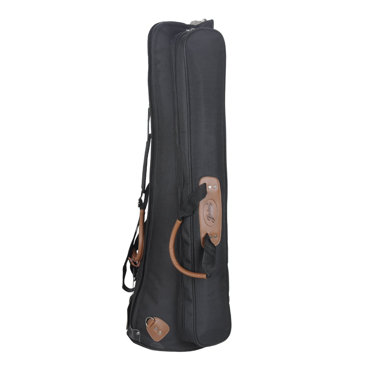 Jinchuan Deluxe Tenor Slide Trombone Gig Bag Light Weight Case Water-resistant Cloth Soft Leather Handle E-1A