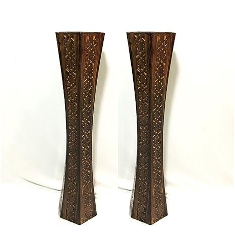 c6f7fd78b209 Buy Badshah Craftsvilla s Nakkashi Fancy Wooden Vase for Home décor ...