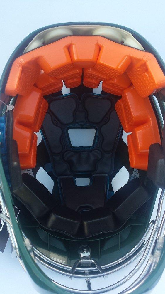 STX Lacrosse Stallion 500 casco, bosque verde, tamaño mediano: Amazon.es: Hogar
