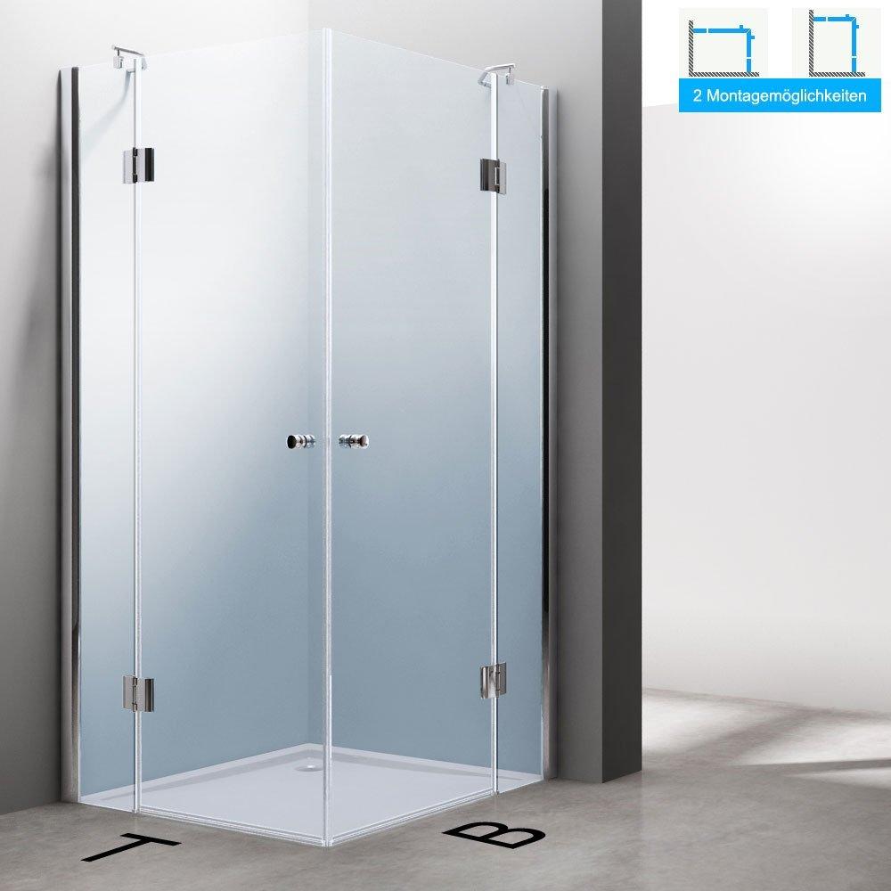 Luxus duschkabine  TBH: 100x100 x 190 cm Luxus Duschkabine Duschabtrennung Ravenna01K ...