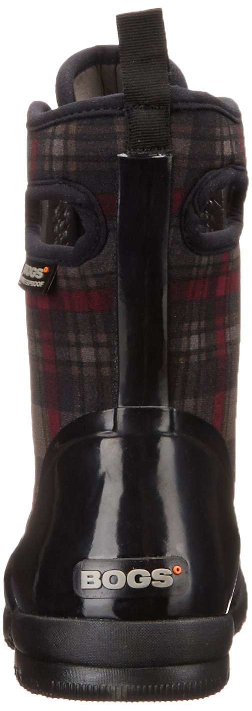 Bogs Women's Sidney Cravat B(M) Snow Boot B00QMQAG50 10 B(M) Cravat US|Plaid Print/Black 05b98a