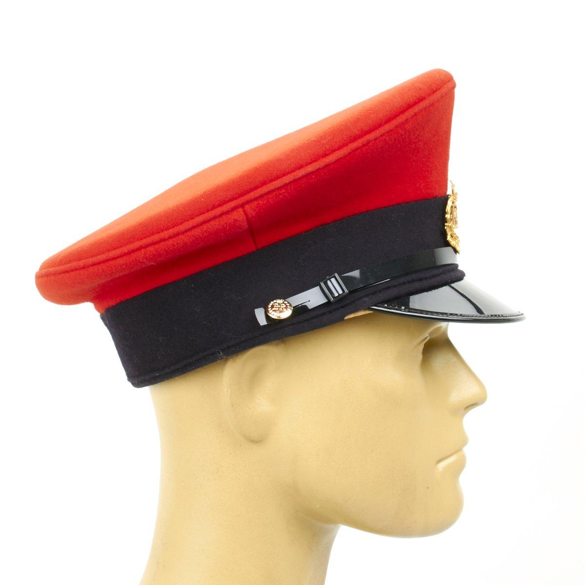 8a5059ed Amazon.com: Original British RMP Royal Military Police Visor Hat- 7 ...