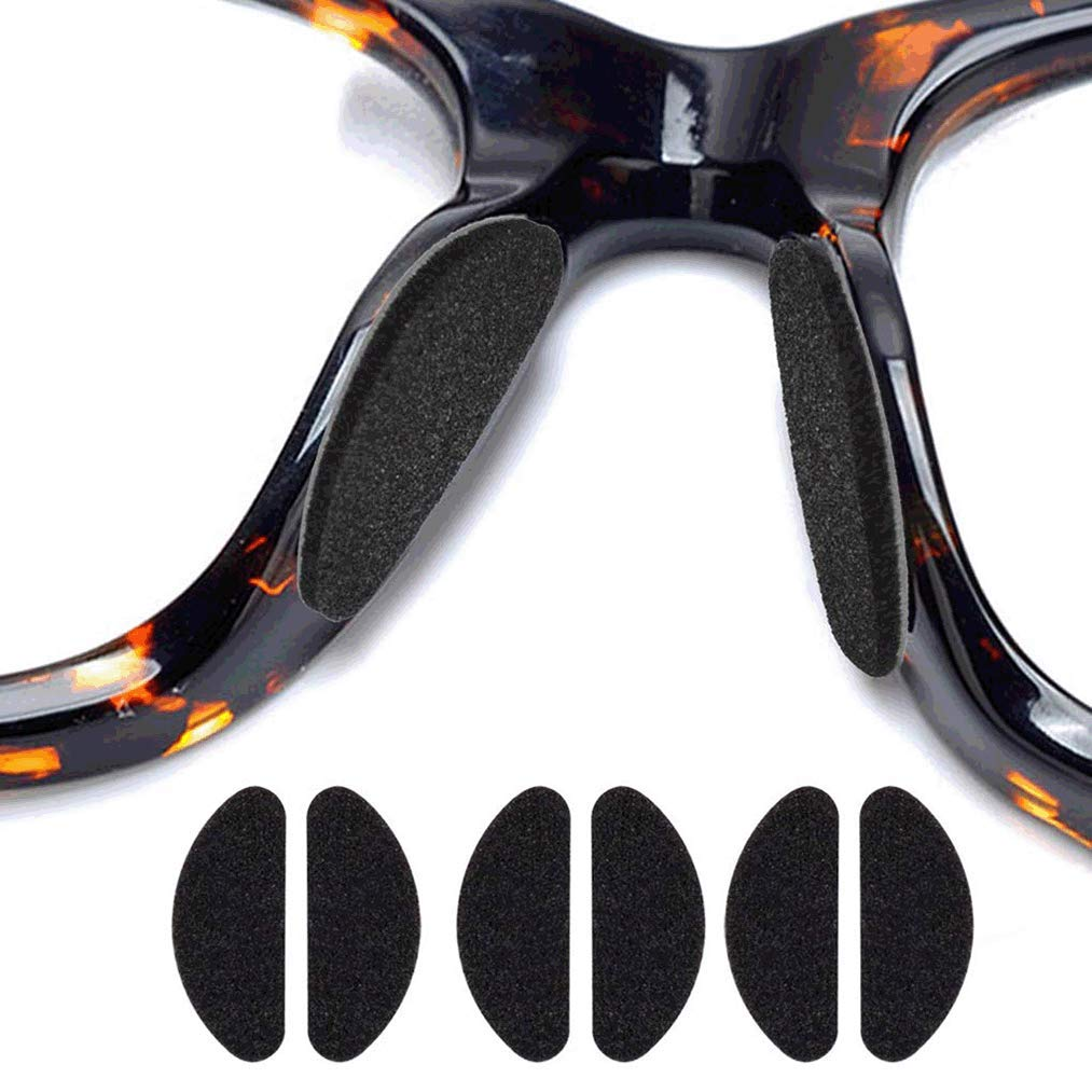 Poualss 60 Pares de Almohadillas para la Nariz Almohadillas para la nariz de Espuma Suave Almohadillas para la Nariz Antideslizantes Autoadhesivas para Gafas Gafas y Gafas de Sol