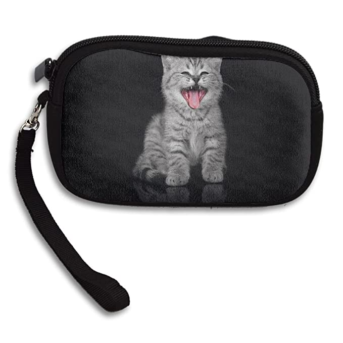 Animals Cute Tongues Cats Comfortable Coin Purse Storage Package Wallet  Zipper Change Holder Bag Key Wristlet 8d1b70b3b
