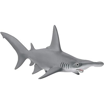 SCHLEICH Hammerhead Shark, Multicolor: Toys & Games