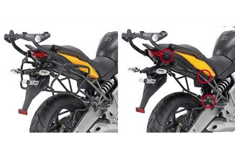 Rapid - Side Case-Rack (Holder) removable Kawasaki Versys 650 Bj. 10-: Amazon.es: Coche y moto