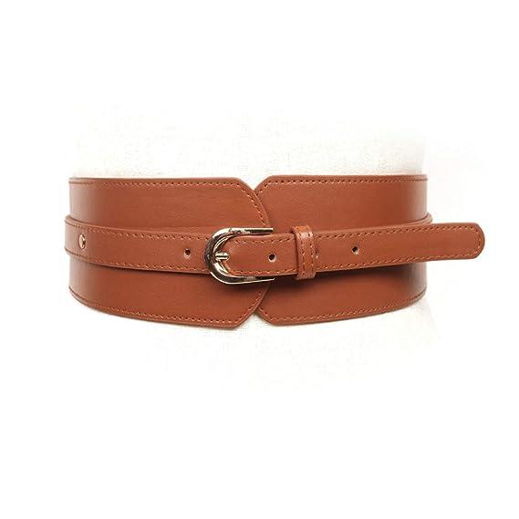 ROMQUEEN Cinturón Cuero Cinturones Joven Traje para Ropa Formal ...