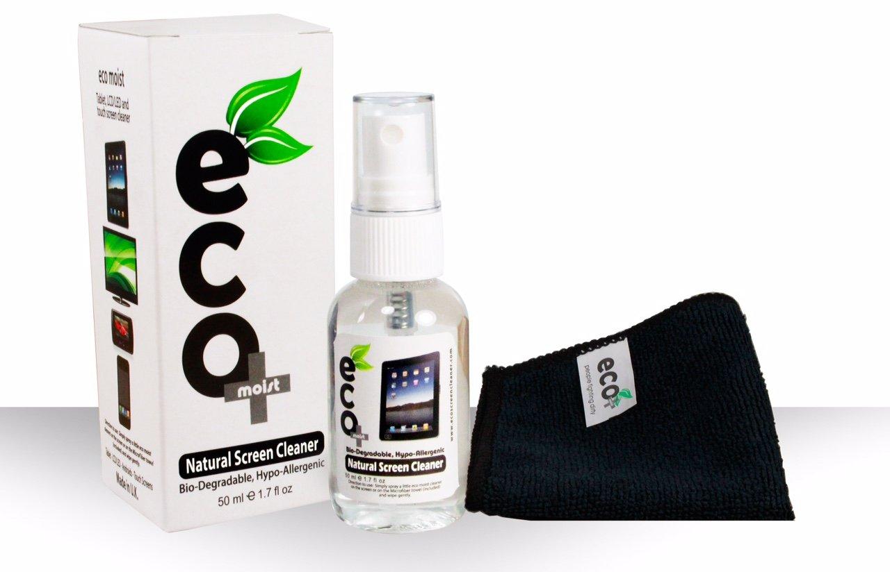 Ecomoist Bildschirmreiniger (50 ml) + Mikrofaser & Handtuch thumbnail