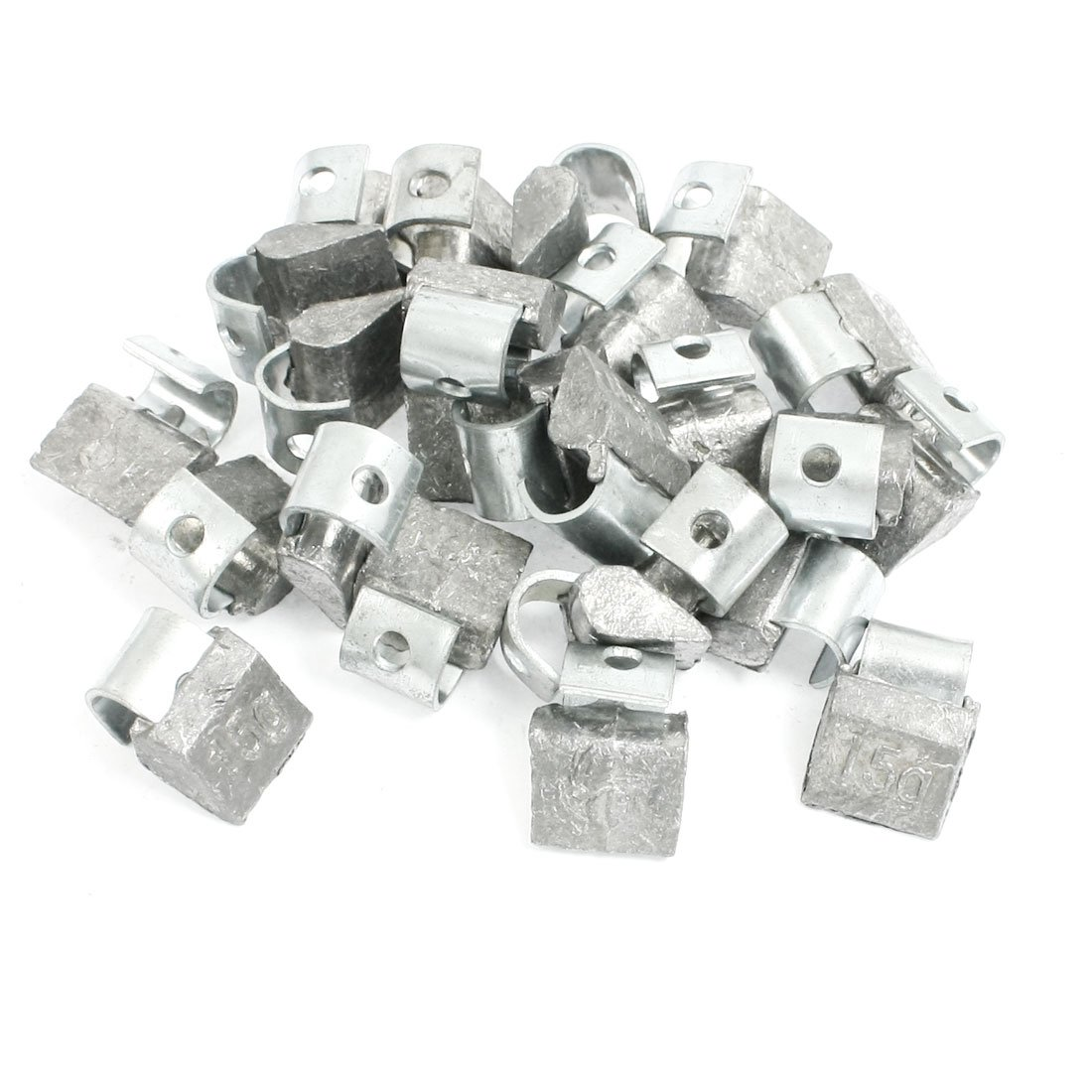 uxcell Motorcycle Car Clip Tyre Tire Wheel Balancing Weights 15 Gram 20 Pcs