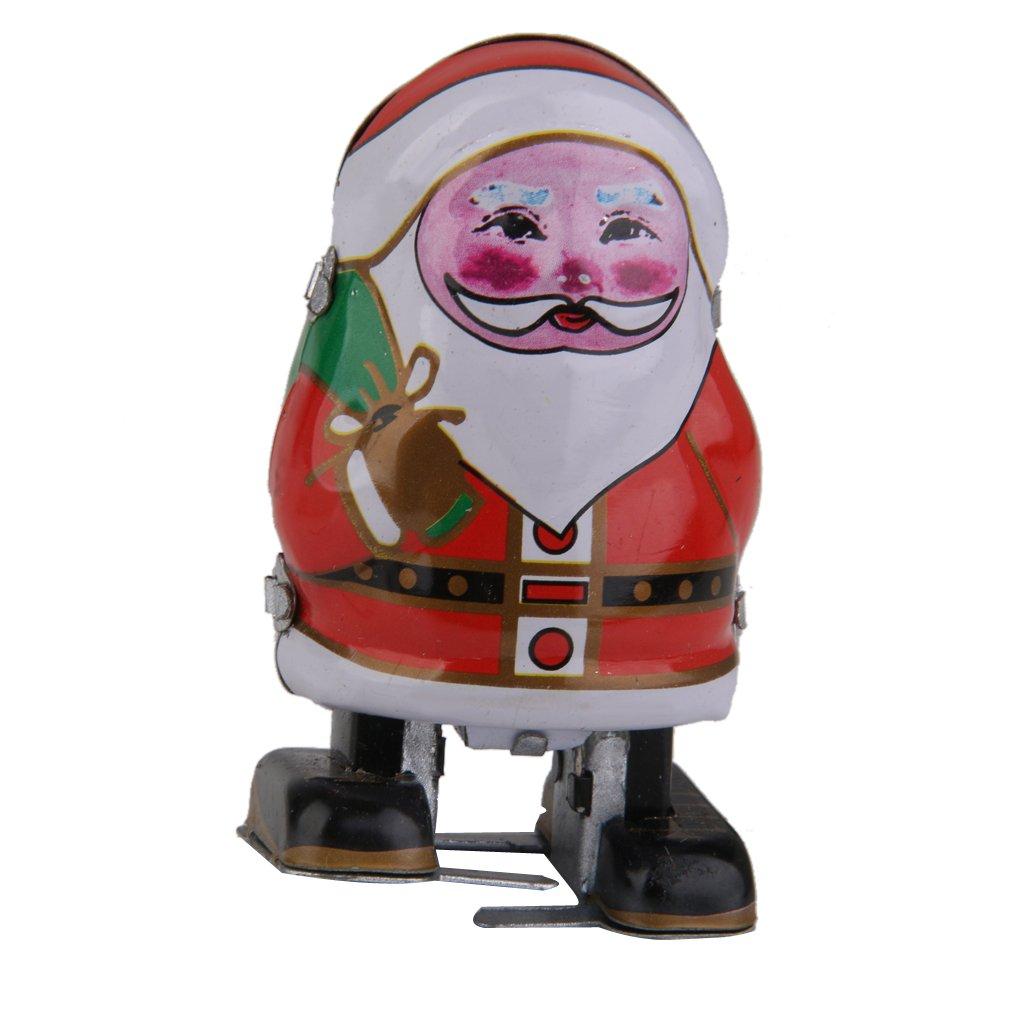 sharprepublic Claus De Santa Terminan Juguete De Hojalata