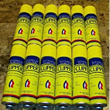 Clipper Pure Premium Butane 7x Refined Fuel Gas Lighter Refill 4.89 oz Lot of 12