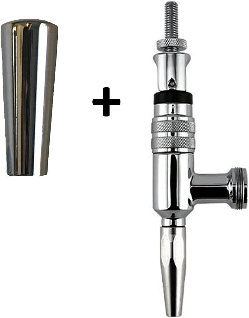 European Specialty Stout Beer Faucet With Heavy Chrome Tap Handle 1