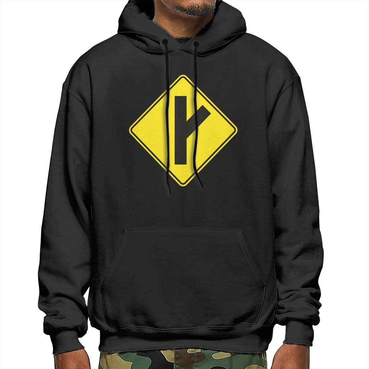 Men Going Their Own Way Red Pill and Blue Pill Symbol Mens Hooded Sweatshirt