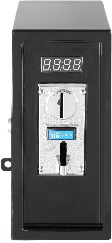 Moracle Selector de Monedas Selector Múltiple de Monedas Aceptador de Monedas Múltiple para Máquinas de Juegos de Control de la Máquina del Tiempo 99: 59