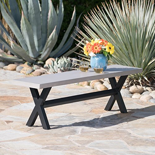 Astonishing Great Deal Furniture Refuggio Outdoor Light Grey Finished Lamtechconsult Wood Chair Design Ideas Lamtechconsultcom