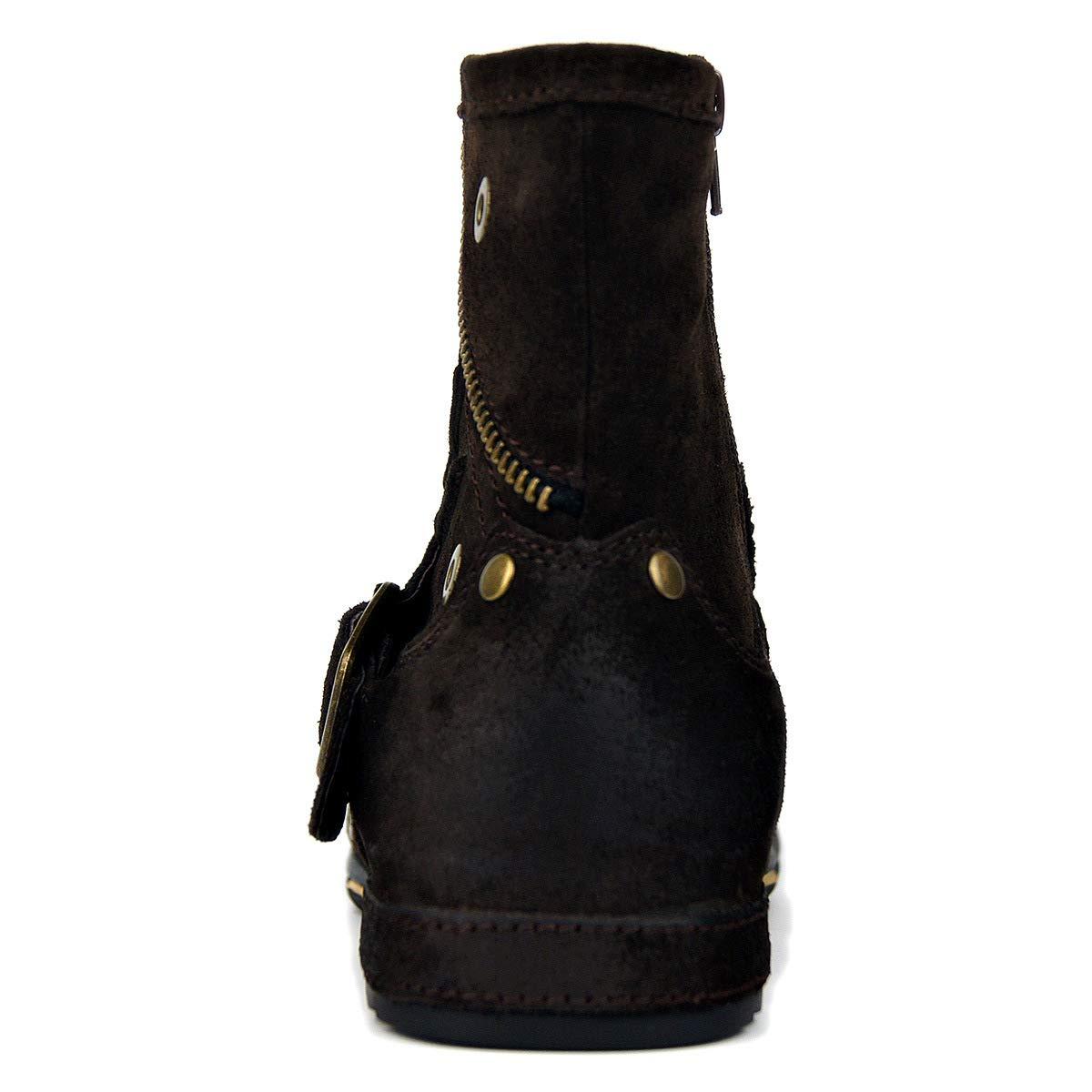 Suetar Suetar Suetar Echtes Leder Chukka Stiefel für Männer Herbst und Winter Mode Zipper-up Stiefeletten Herren Western Freizeitschuhe B07JZV8BB2  792dde