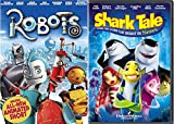 Family Fun Animation Collection: Robots & Shark Tale 2-DVD Bundle