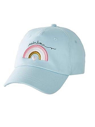 VERTBAUDET Gorra Rainbow niña Azul Claro Liso con Motivos 4/6A ...