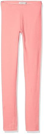 NAME IT Nkfdavina Sweat Legging Noos, Leggings para Niñas, Rosa (Geranium Pink)
