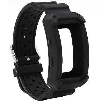 Elespoto para Samsung Gear FIT2 Pro Correa de Silicona Reloj Pulsera Correa de reemplazo Banda para Samsung Gear fit 2 Gear Fit 2 Pro Smartwatch ...