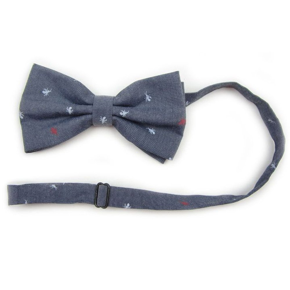 HUAYI Womens//Mens Flowered Cotton Adjustable Wedding Party Bowtie
