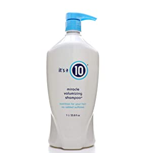It's a 10 Haircare Miracle Volumizing Shampoo, 33.8 fl. oz.