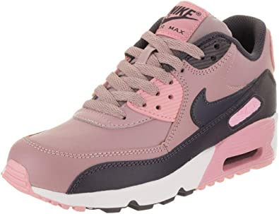Nike Air Max 90 Leather (GS) 833376 602 Running Shoes 100% Authentic. | eBay