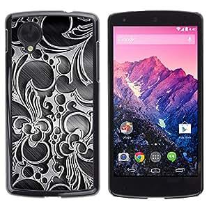 TECHCASE**Cubierta de la caja de protección la piel dura para el ** LG Google Nexus 5 D820 D821 ** Wallpaper Decoration Design Art Interior