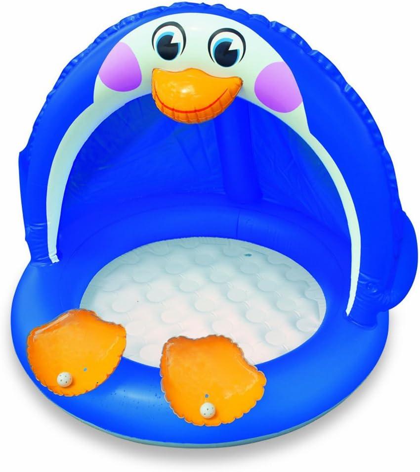Intex 57418NP - Piscina Infantil Inflable de pingüino: Amazon.es ...