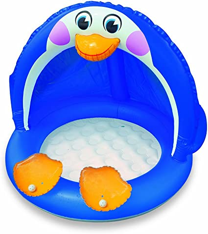 Intex 57418NP - Piscina Infantil Inflable de pingüino: Amazon.es ...