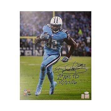 Derrick Henry 1st NFL TD Autographed Tennessee Titans 16x20 Photo - JSA COA 8f3afba98