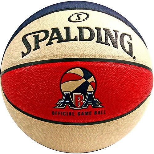Creative Sports Enterprises SPALDING-ABA-Game-Ball Spalding Official ABA Game Basketball by Sports Memorabilia