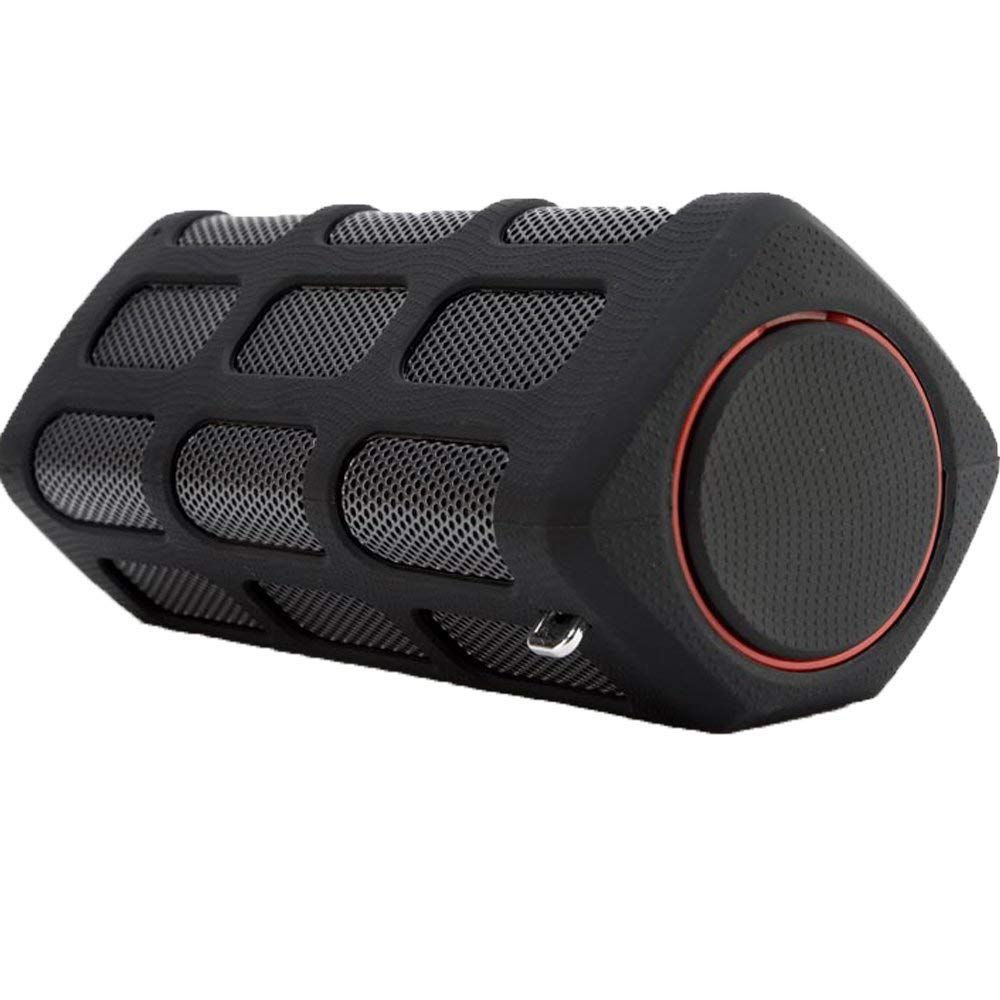 Wireless Bluetooth Speaker,Techcode 2-in-1 IP64 10W Waterproof Stereo Speaker + 7000mAh Power Bank with High-Definition Sound Bass,Sensitive touch,Handsfree for Calls for iPhone,iPad,Samsung (Black) PP-S772-BK