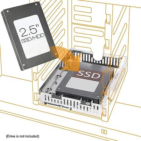 "Icy Dock 2.5/"" to 3.5/"" SAS//SATA HDD//SSD Converter Free Shipping"