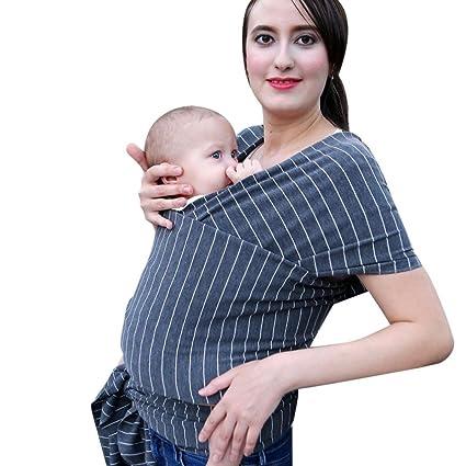 venmo Baby Wrap Stretchy Sling säugling Pecho Bolsa Carrier Breathable vestido de mujer discreción Lactancia bolsillos