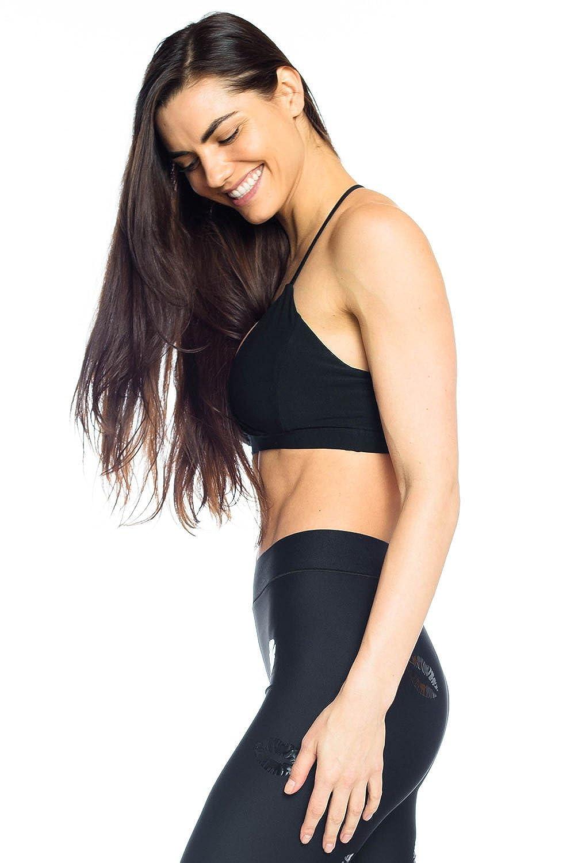 Niyama Sol Criss Cross Sports Bra Womens Active Workout