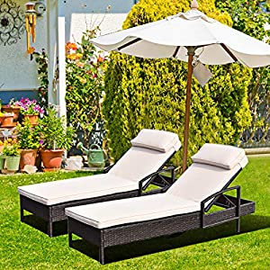 61Uac0XC77L._SS300_ 50+ Wicker Chaise Lounge Chairs