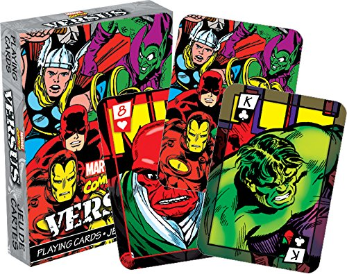マーベルコミック52トランプの組対   (Marvel Versus (col) cards nm)