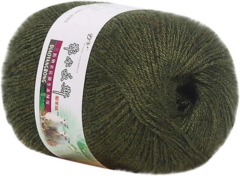 OKEYsoe línea de bufanda de lana para bebé, hilo de algodón para ...