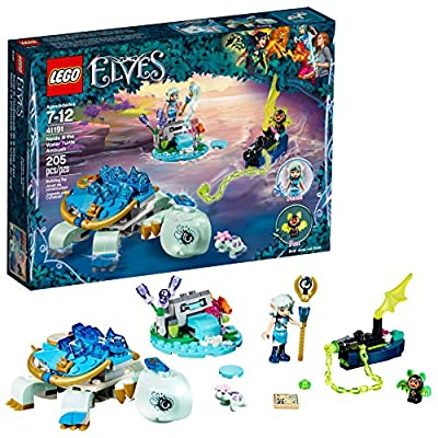 LEGO Elves Naida & The Water Turtle Ambush 41191 Building Kit (205 Pieces): Toys & Games