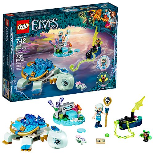 - LEGO Elves Naida & The Water Turtle Ambush 41191 Building Kit (205 Pieces)