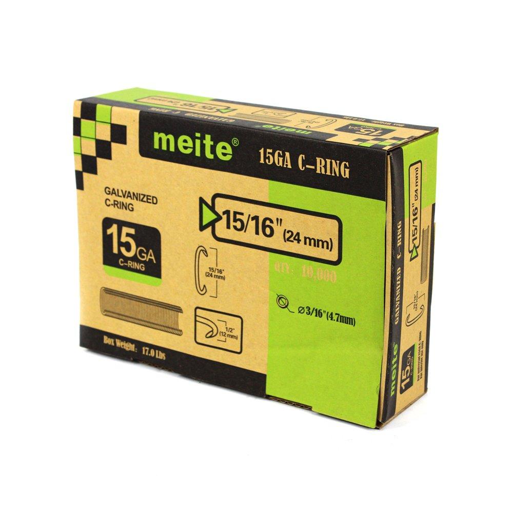 meite C Ring Plier Or Staples By C Ring Gun Tools Series 15GA Inside Diameter Of 4.8mm by meite