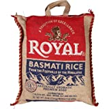 Royal Naturally Aromatic, Premium Aged Basmati Rice, 10 lb Product of India