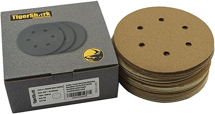 The Best Tiger Shark Samding Discs 40 Grit