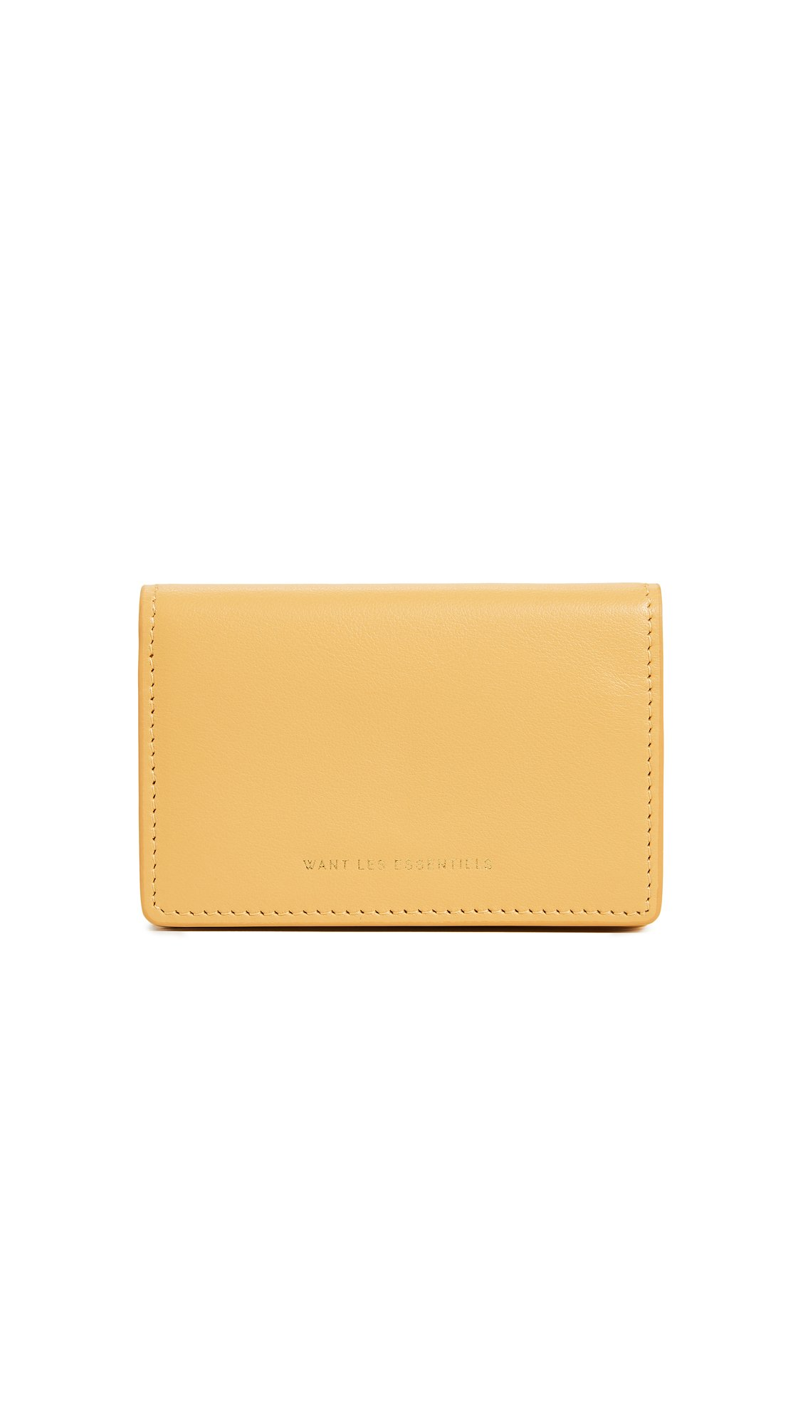 WANT LES ESSENTIELS Women's Lambert Card Case, Desert Marigold, One Size