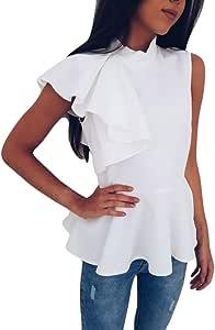 Camisetas Transparentes De Mujer Ronamick Moda Mujer Blusa Transparente Mujer Negra Tops Mujer Moda Mujer Camisa Cuadros Niño (Blanco,M): Amazon.es: Bricolaje y herramientas