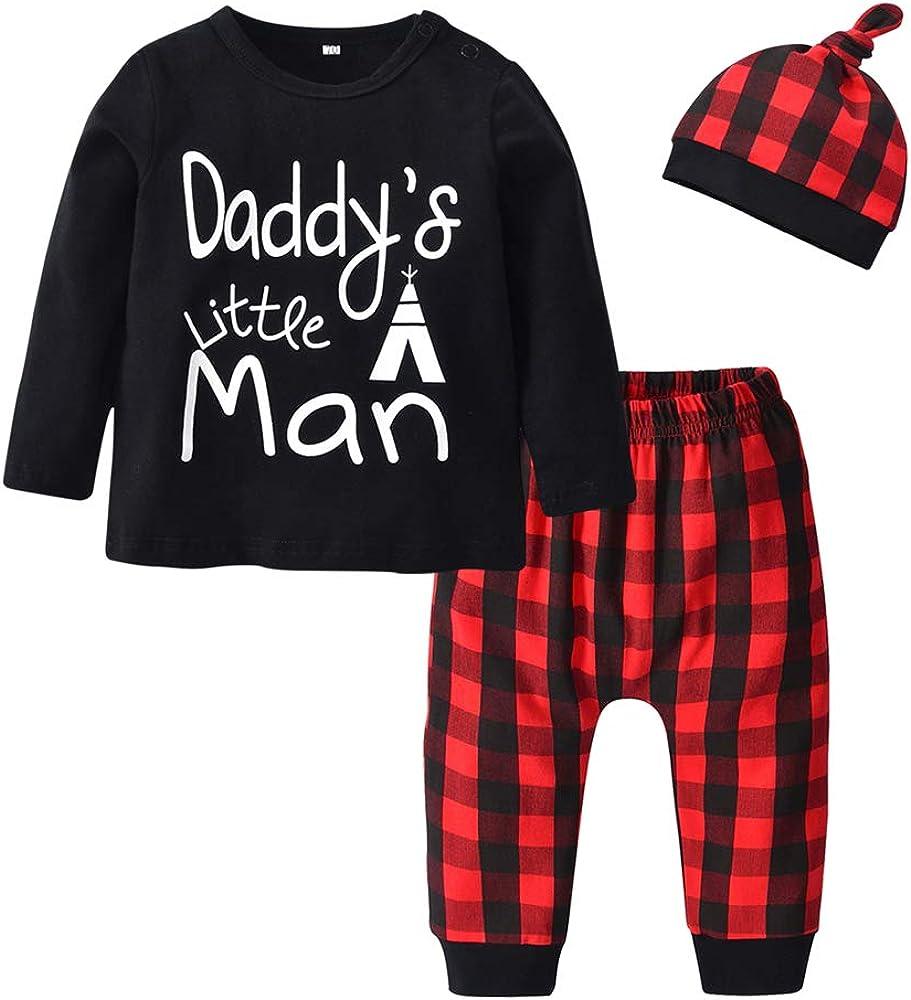 Amazon.com: Conjunto de ropa para bebés y niños de 3 piezas ...